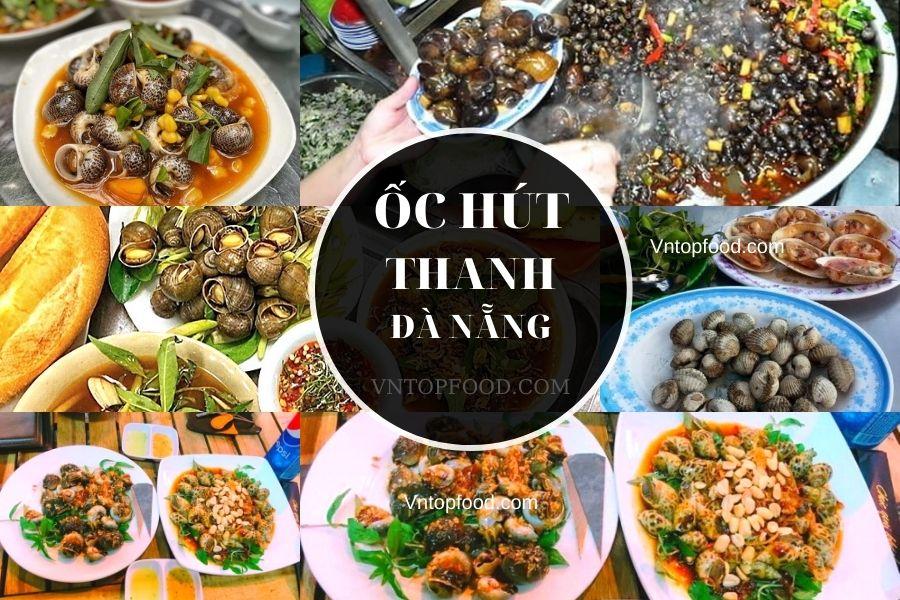 Địa điểm quán ốc hút thanh ở Đà Nẵng