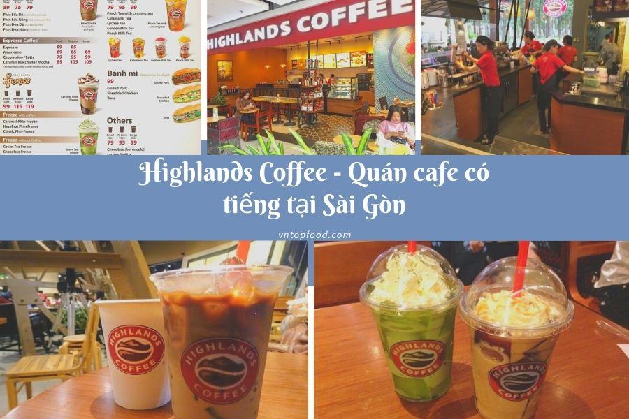 Highlands Coffee - Muốn mua cafe mang về thì đến đây