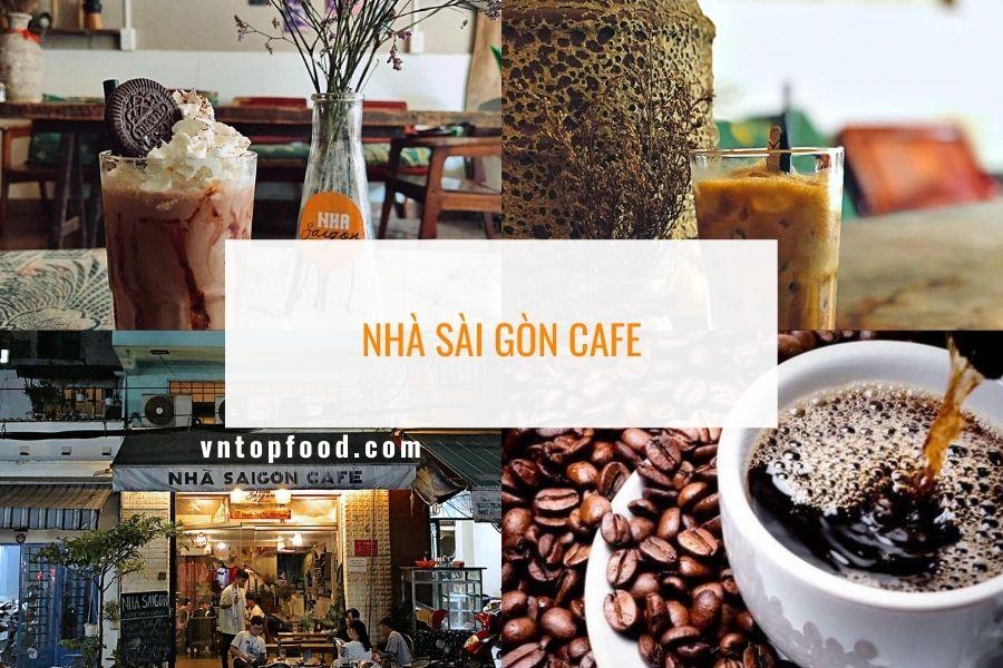 Nhà Saigon Cafe - Địa điểm mua cafe mang đi gần bình thạnh