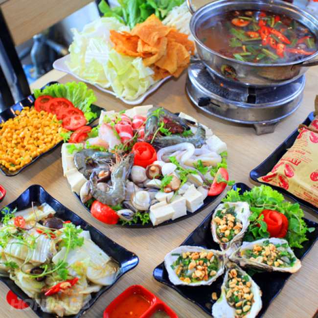 Quán 130 hải sản tươi sống - Quán lẩu hải sản ngon rẻ ở quận Bình