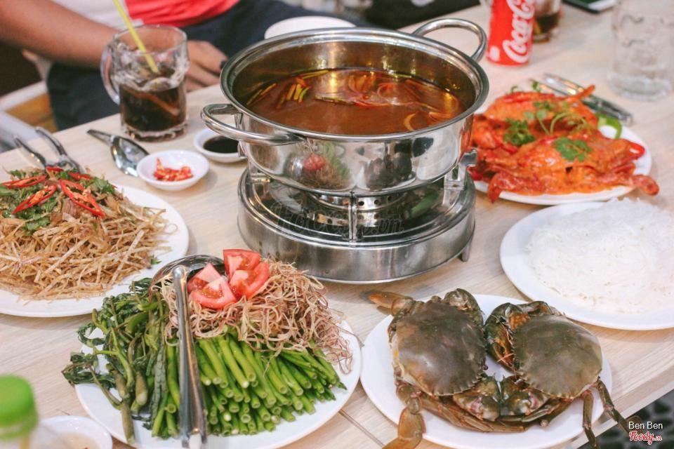Quán lẩu hải sản ngon rẻ ở Gò Vấp - Thu Vân