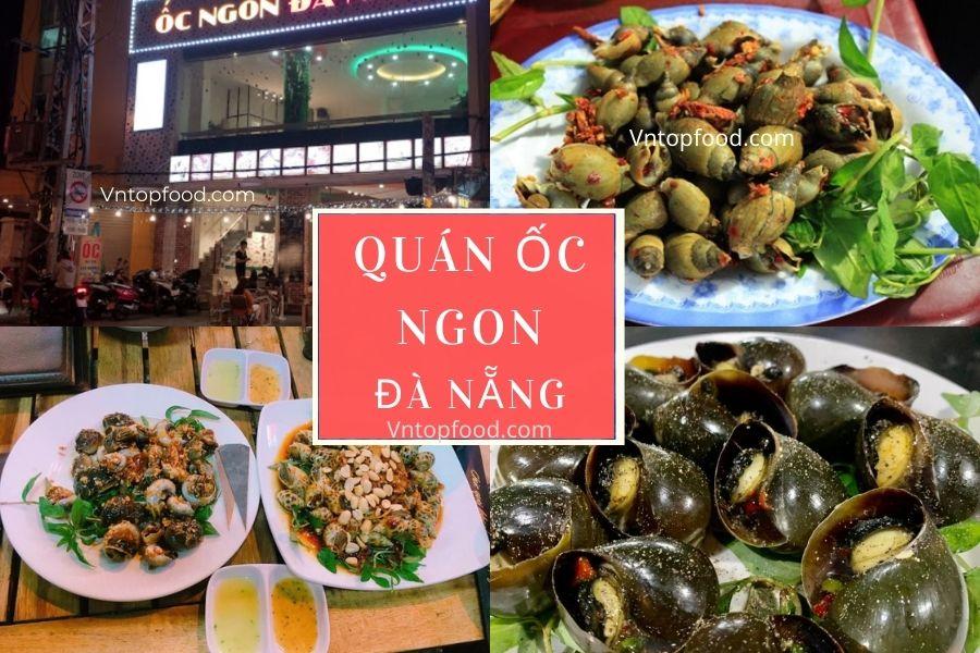 Quán ốc ngon ở Đà Nẵng