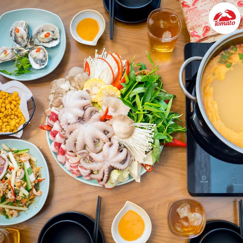 Yeebo Hot Pot Seafood Restaurant - Lẩu hải sản ngon rẻ ở Phú Nhuận