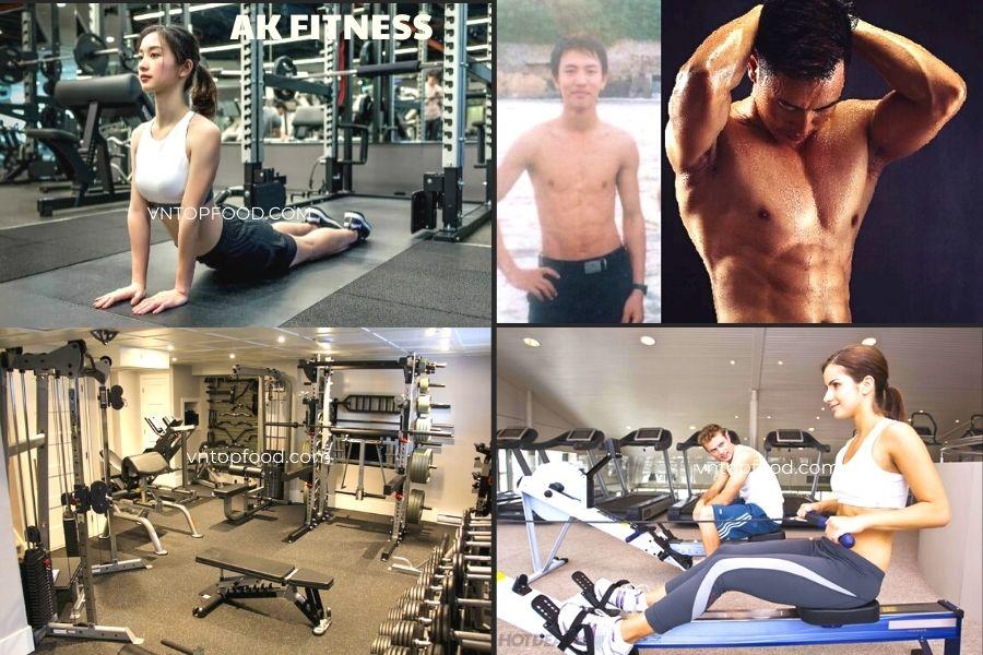 AK Fitness - Phòng tập chuyên nghiệp