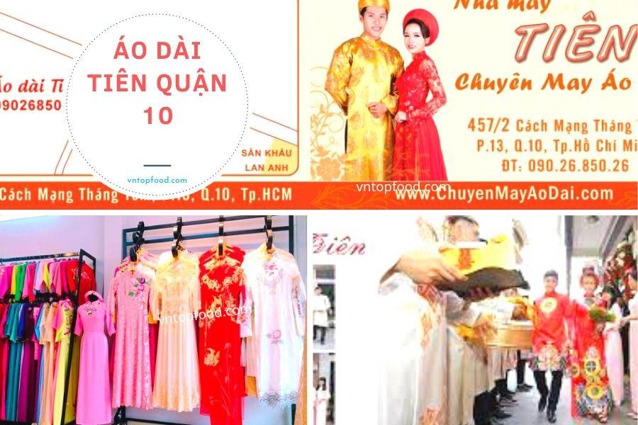 Áo Dài Tiên Quận 10 - Địa điểm bán áo dài đẹp tại TPHCM
