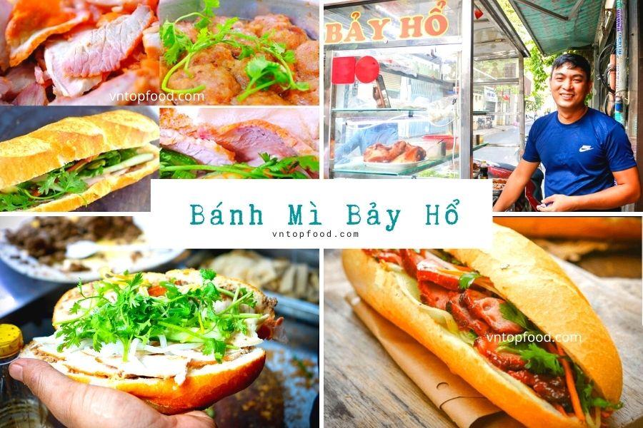 Bánh Mì Bảy Hổ - Tiệm có gía rẻ ngon nhất Sài Gòn