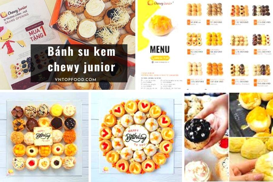 Bánh su kem chewy junior - Bánh kem online tại HCM