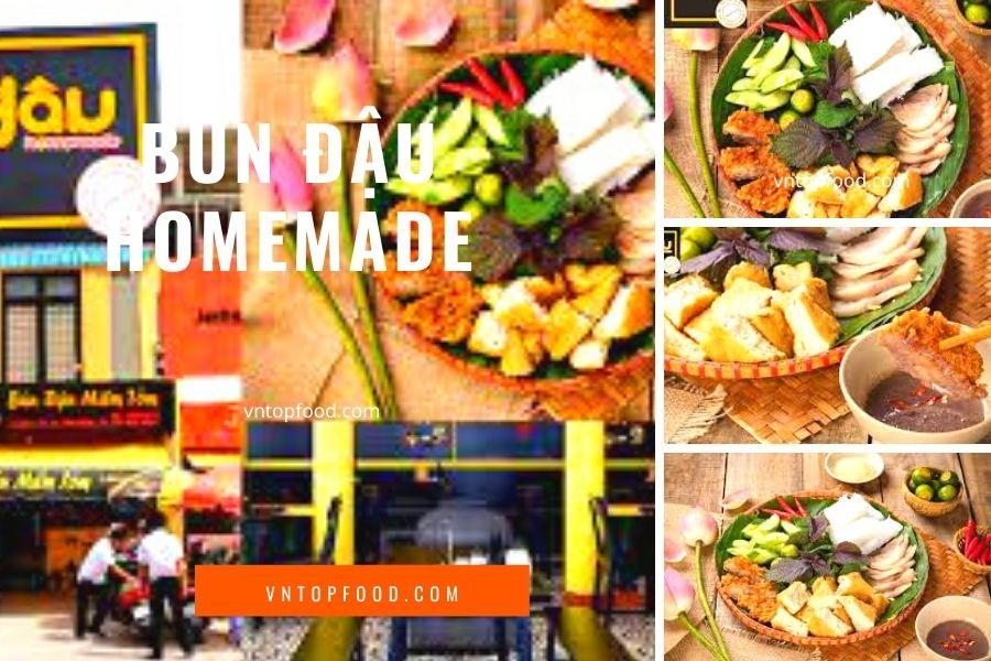 Bún Đậu Homemade - quán ăn hoàng diệu, quận 4