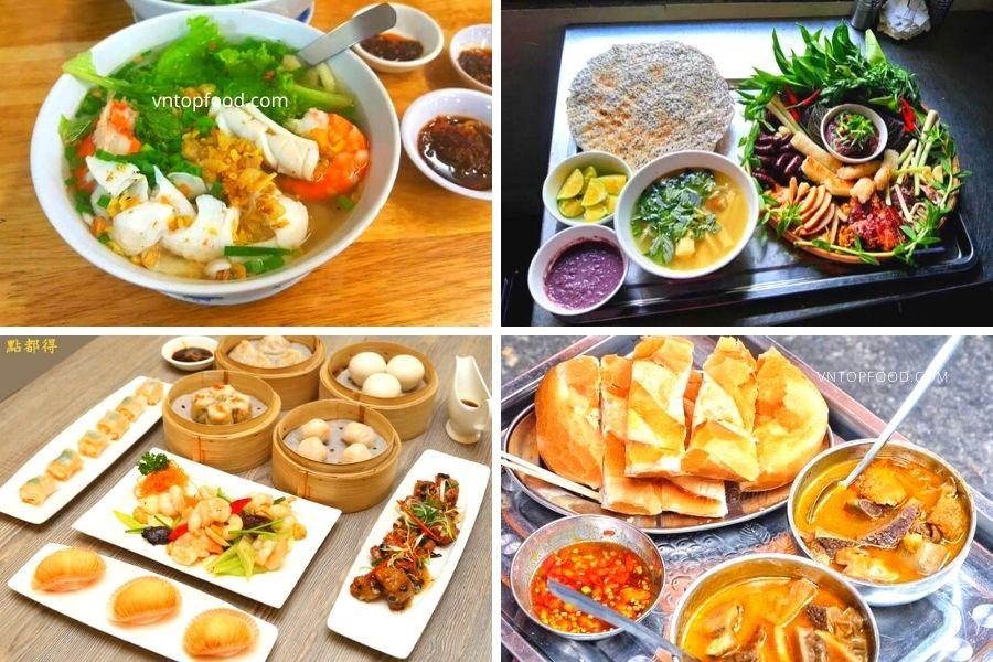 Các món ăn ngon rẻ gần quận 4 nhất