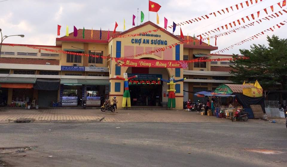 Chợ An sượng lớn nổi tiếng quận 12