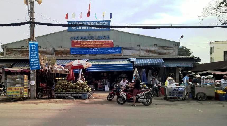 Chợ phước long B gần quận 9