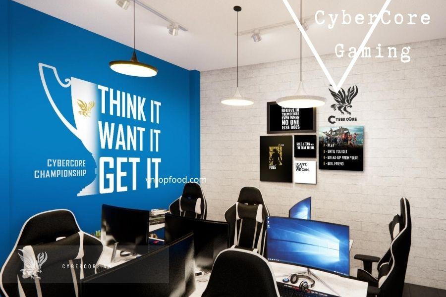 Hệ thống né CyberCore Gaming tphcm