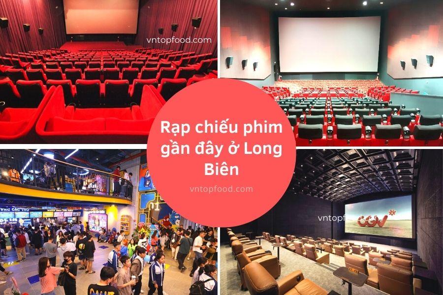 Địa chỉ rạp chiếu phim gần đây ở Long Biên