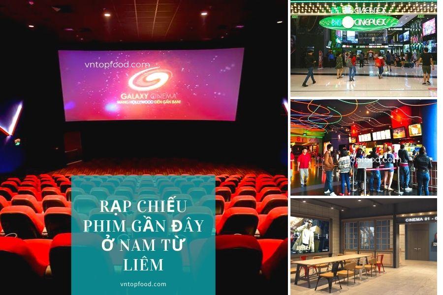 Địa chỉ rạp chiếu phim gần đây ở Nam Từ Liêm
