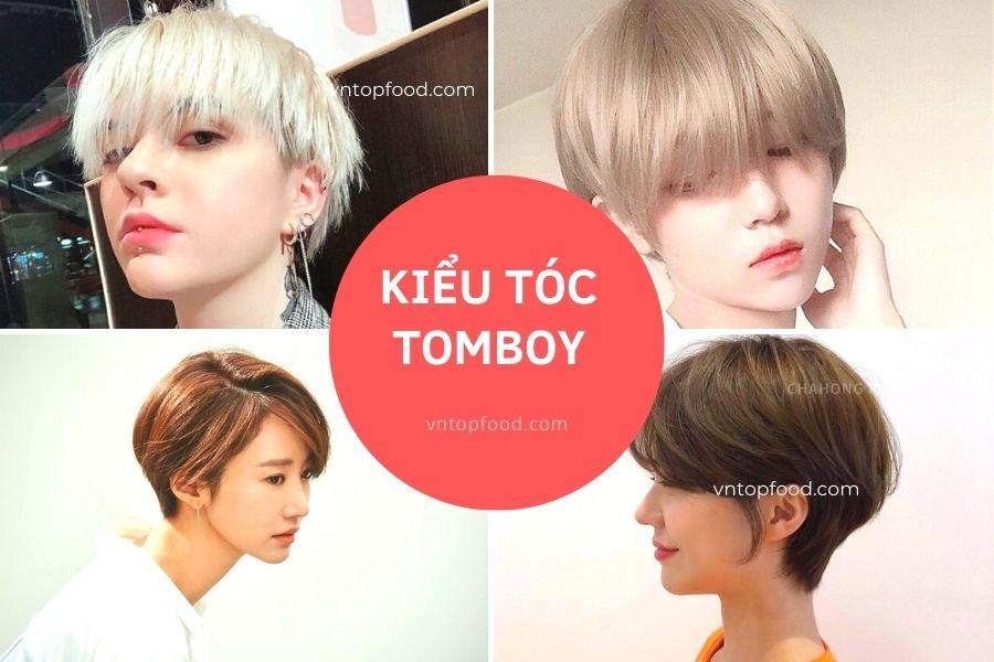 Kiểu tóc tomboy