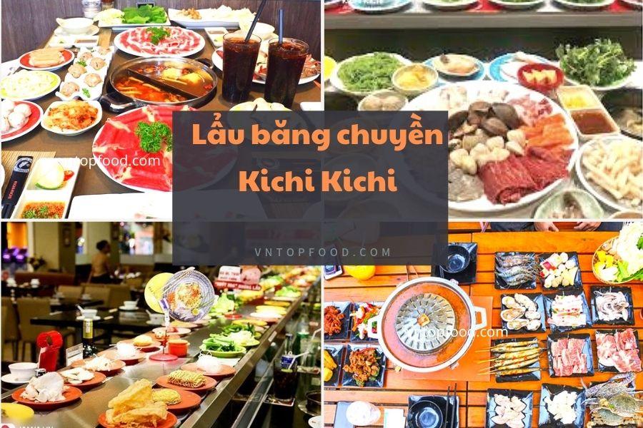 Lẩu băng chuyền Kichi Kichi - Quán ngon quận 6