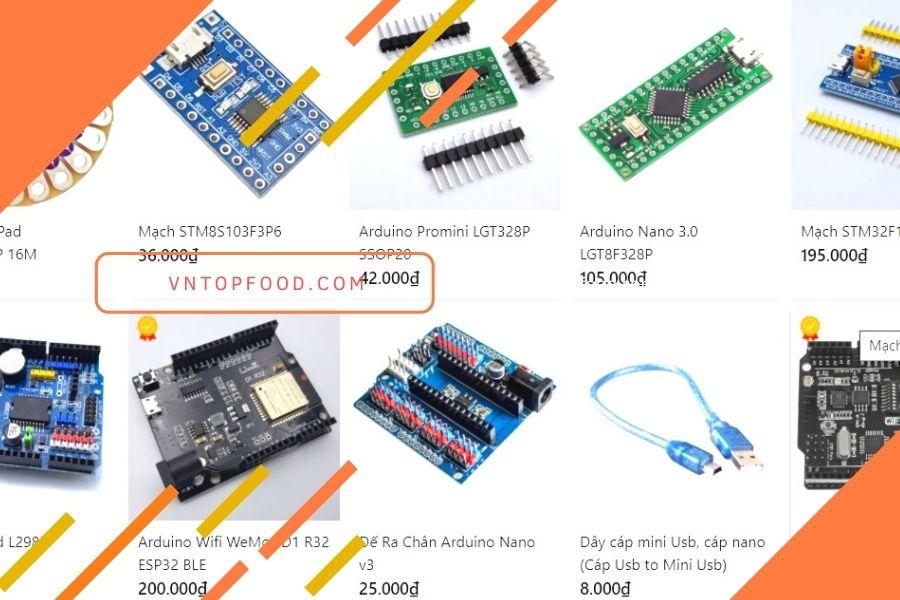 Linh kiện điện tử bán trực tuyến NSHOP