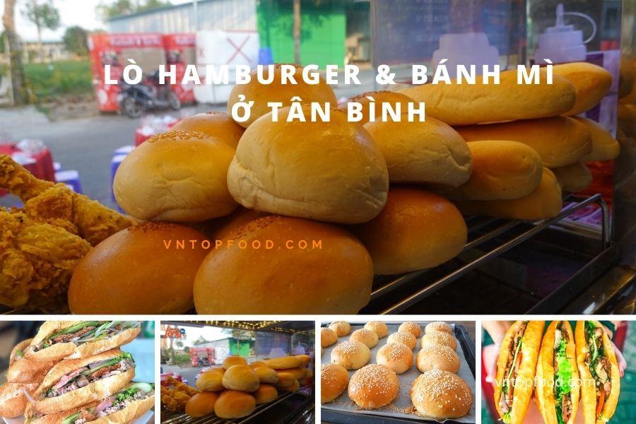 Lò hamburger và bánh mì ngon ở tân bình