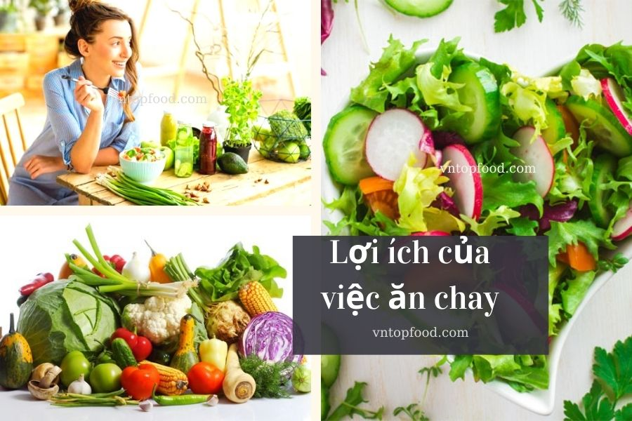 Lợi ích của việc ăn chay