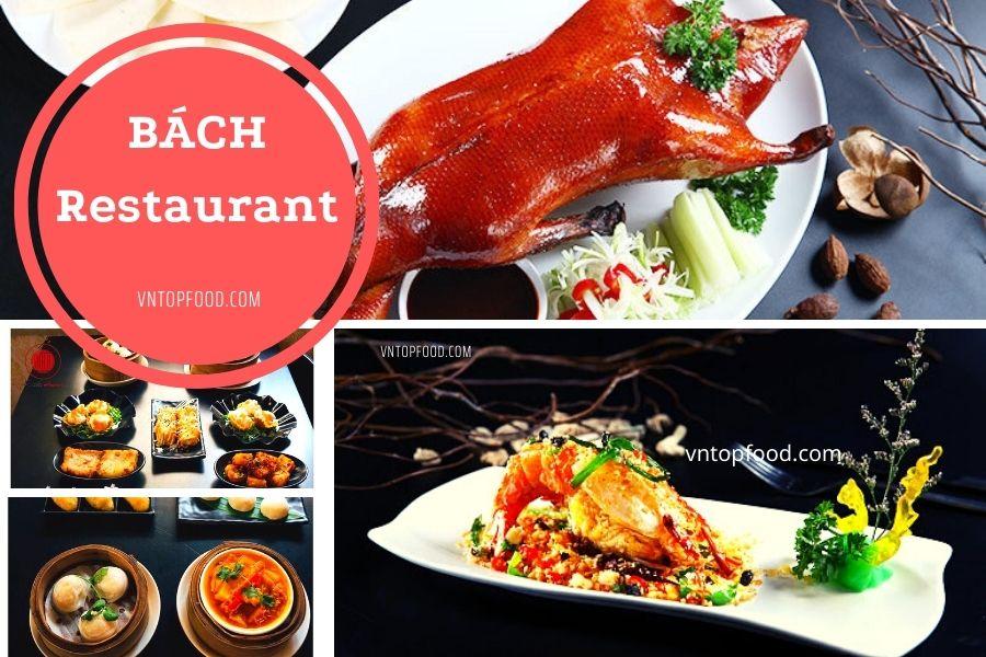 Nhà hàng Bách Restaurant nhiều món ngon hấp dẫn