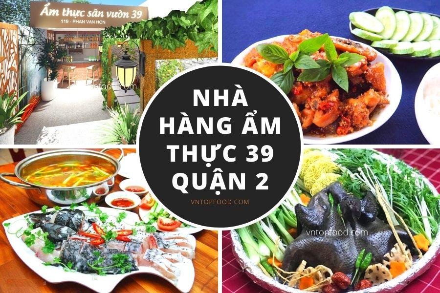 Nhà hàng ẩm thực 39