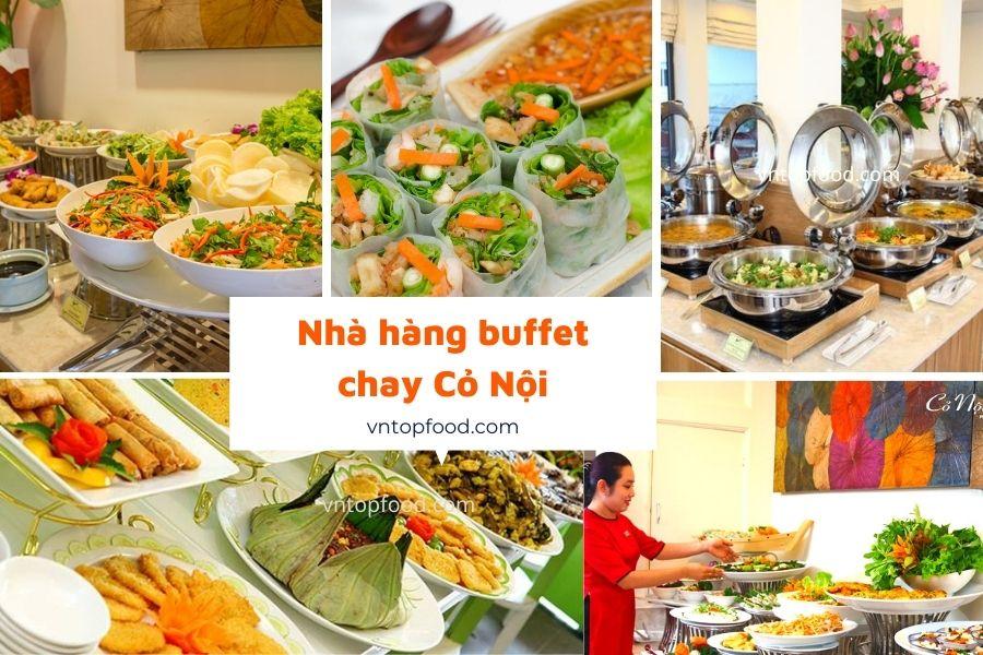 Nhà hàng buffet chay Cỏ Nội - Buffet chay quận 1