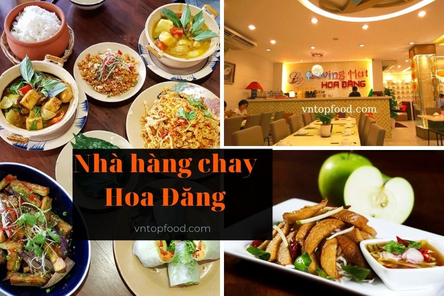 Nhà hàng chay Hoa Đăng - Nhà hàng chay sang trọng quận 1