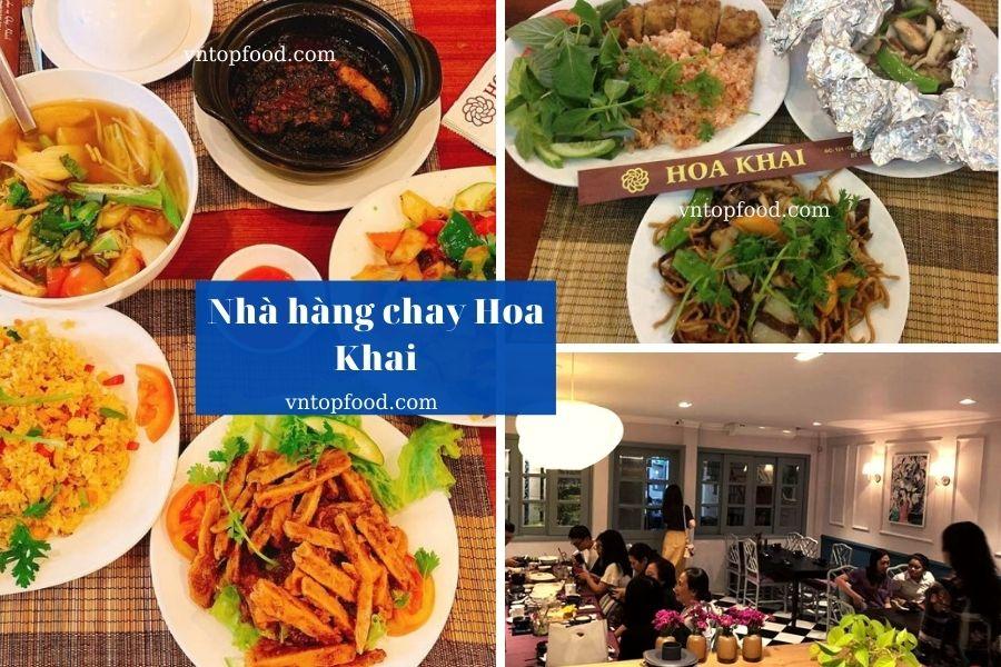 Nhà hàng chay Hoa Khai - Nhà hàng chay ngon nhất tại Sài Gòn