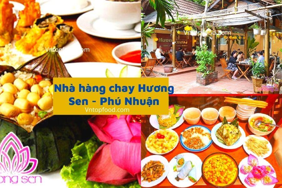 Nhà hàng chay Hương Sen - Phú Nhuận
