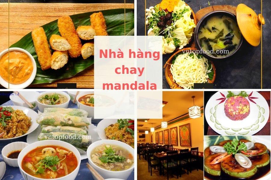 Nhà hàng chay mandala - Nhà hàng chay ngon TPHCM
