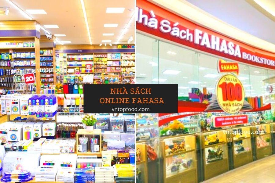 Nhà sách Fahasa bán online lớn nhất gần đây