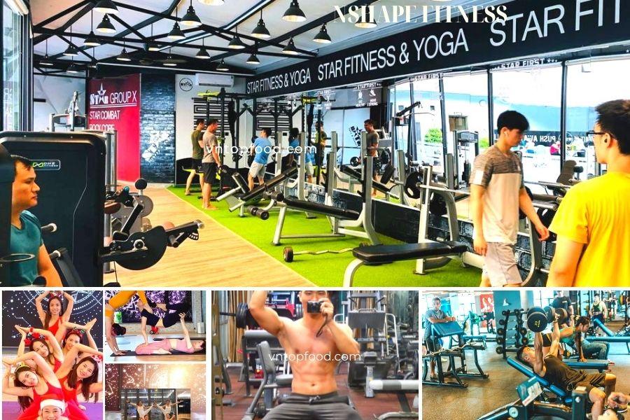 Nshape Fitness - Phòng tập gym hiện đại tại Hà Nộ