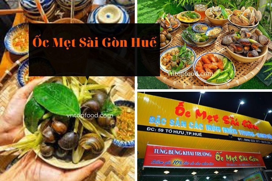 Ốc Mẹt Sài Gòn Huế