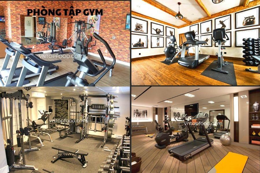 Phòng tập gym có những dụng cụ gì