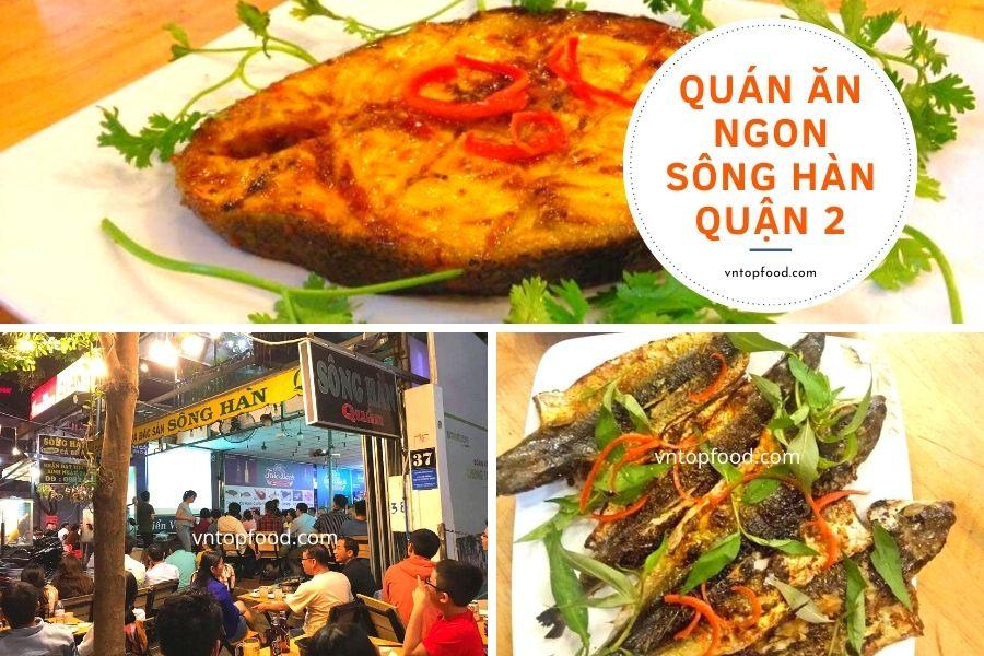 Quán ăn ngon Sông Hàn quận 2
