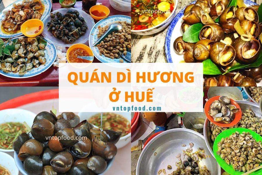 Quán ốc dì hương ở Huế