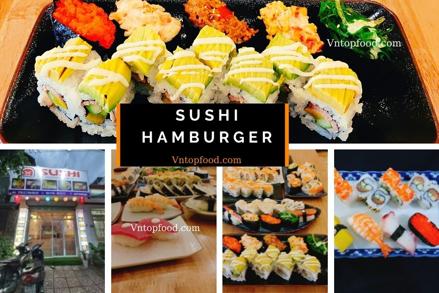 Quán sushi hamburger dành cho bạn thích sushi
