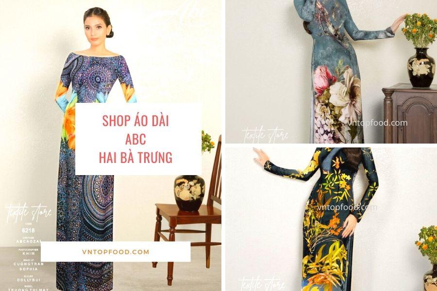 Shop áo dài ABC hai bà trưng