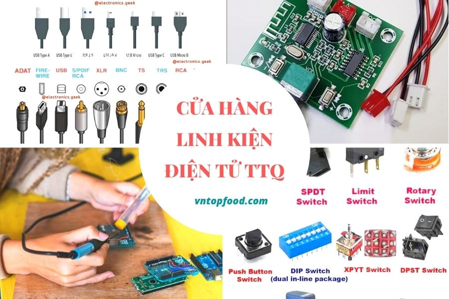 Shop linh kiện điện tử TTQ