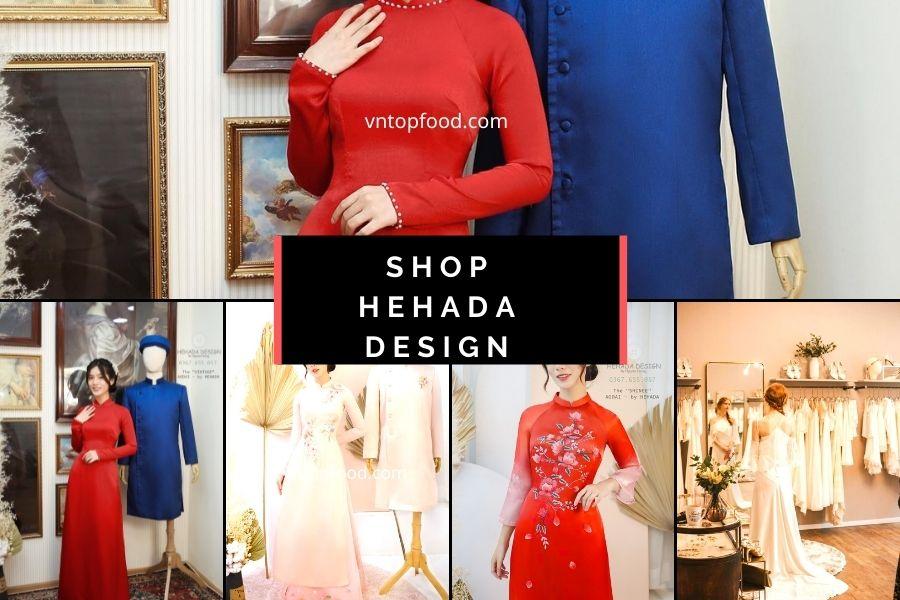 Shop vải áo dài Hehada Design
