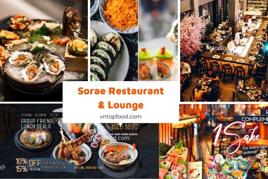 Sorae Restaurant & Lounge  quận 1