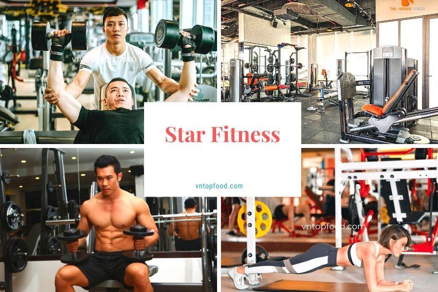 Star Fitness - Phòng gym được yêu thích nhất ở Hà Nội