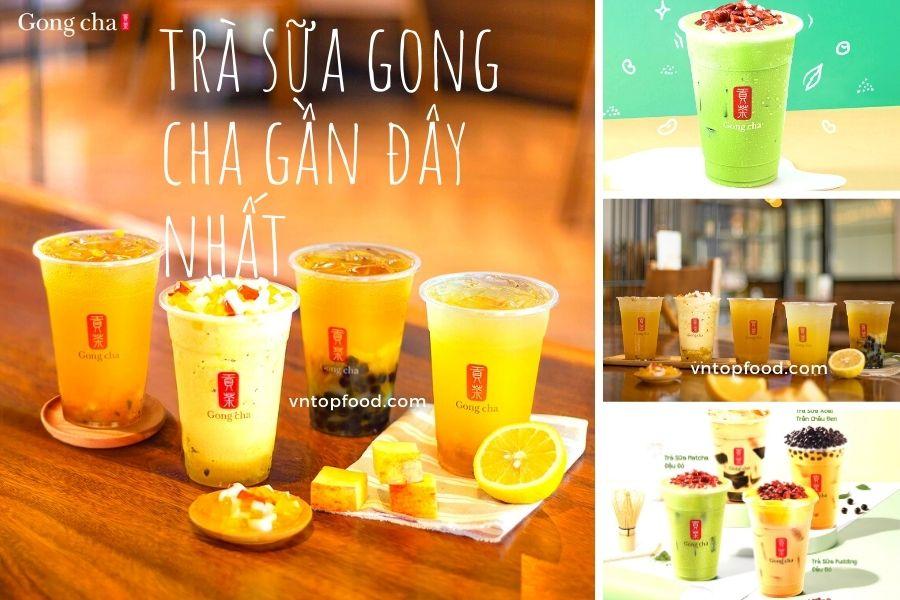 Trà sữa Gong Cha nổi tiếng ở tphcm