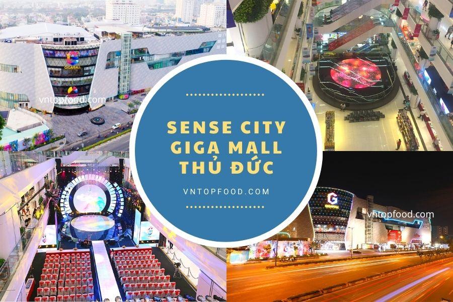 Trung tâm thương mại Sense city giga mall phạm văn đồng thủ đức