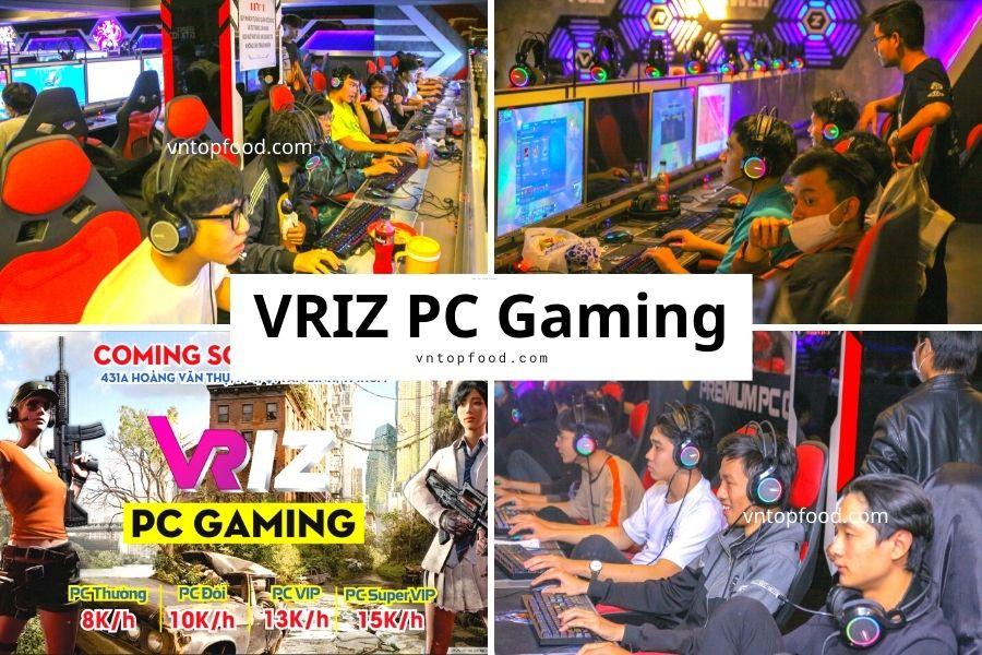 Quán nét  VRIZ PC Gaming ở tphcm