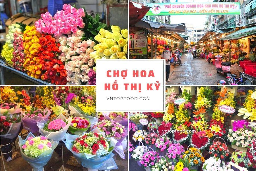Chợ hoa hồ thị kỷ quận 10