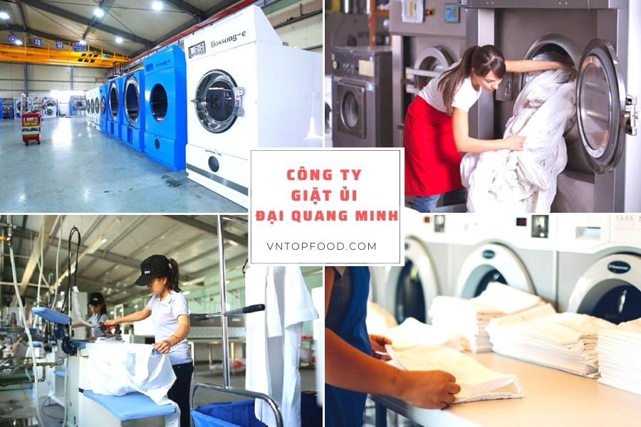 Công ty giặt ủi Đại Quang Minh