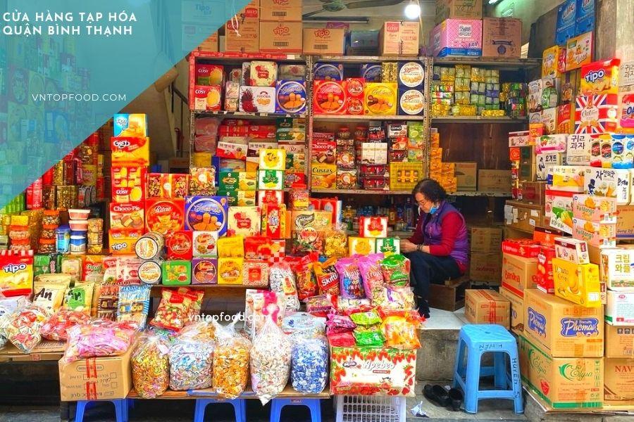 Cửa hàng tạp hóa gần đây ở Bình Thạnh