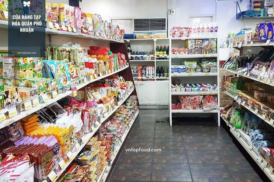 Cửa hàng tạp hóa gần đây ở quận Phú Nhuận