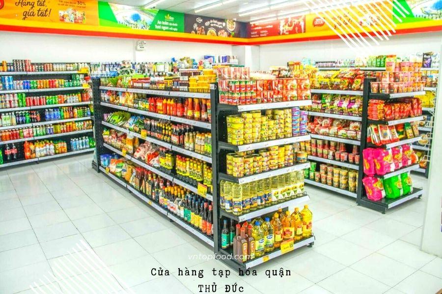 Cửa hàng tạp hóa gần đây ở quận Thủ Đức